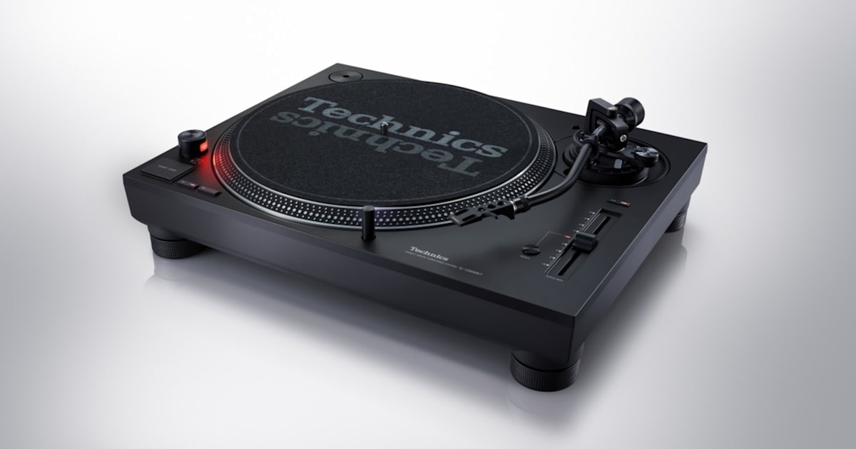 Technics Latest SL-1200 is Built for DJs