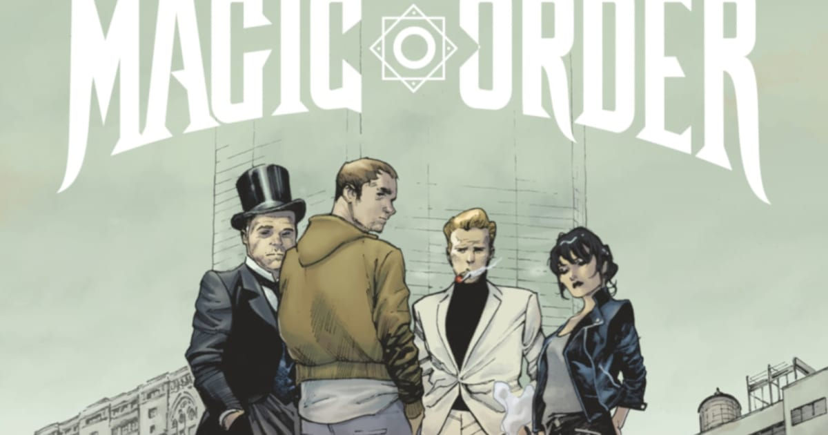 Netflix is turning Mark Millar's'The Magic Order' into a series 1