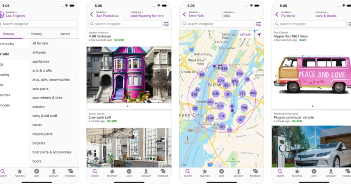 Craigslist only took 11 years to make its own iOS app 1