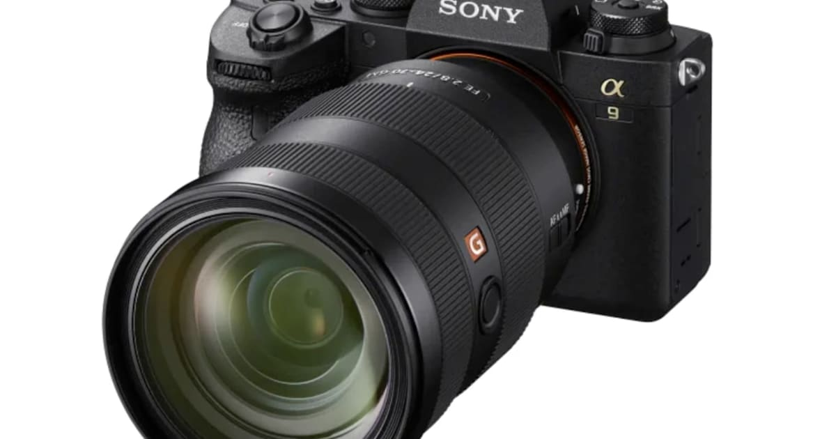 Sony's A9 II mirrorless camera has faster, smarter autofocus