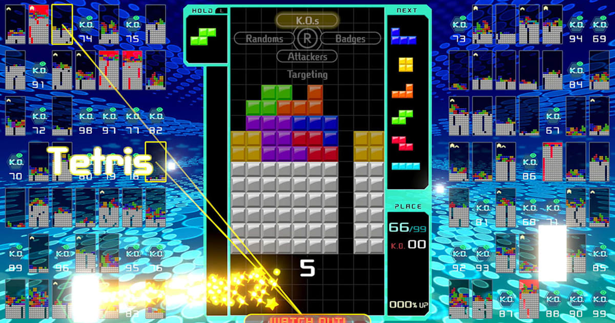 Nintendo will let you play 'Tetris 99' offline for $10 - Engadget