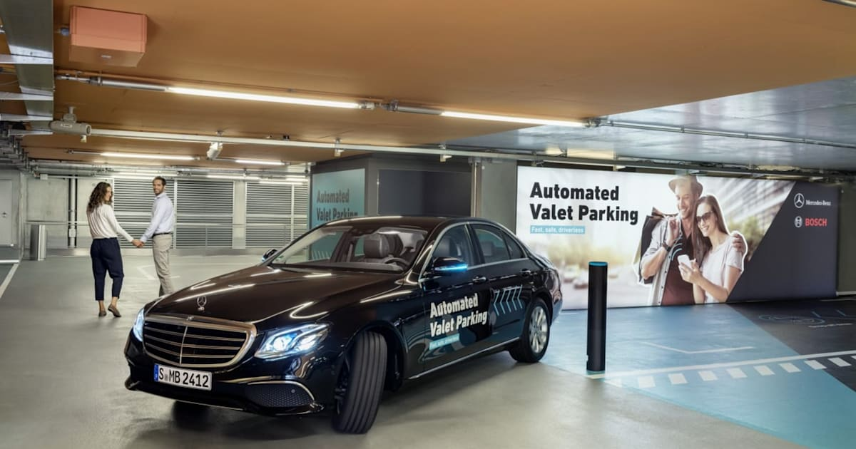 Daimler and Bosch inch closer to fully automated, self-driving valet service 1