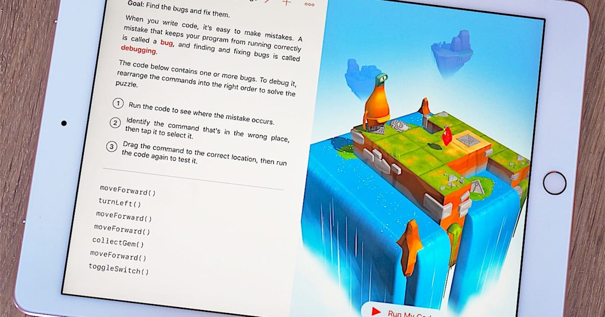 Apple brings code-teaching app Swift Playgrounds to the Mac