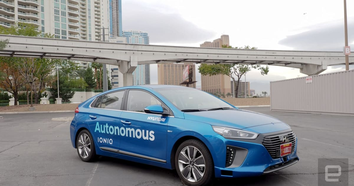 Hyundai teams with Aptiv to put self-driving cars on the road by 2022