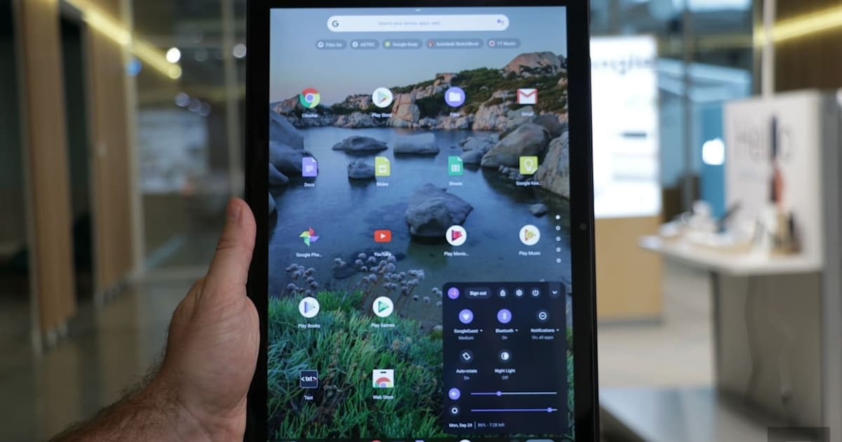Google Aims to Fix Laggy Interface on Chrome OS Tablets