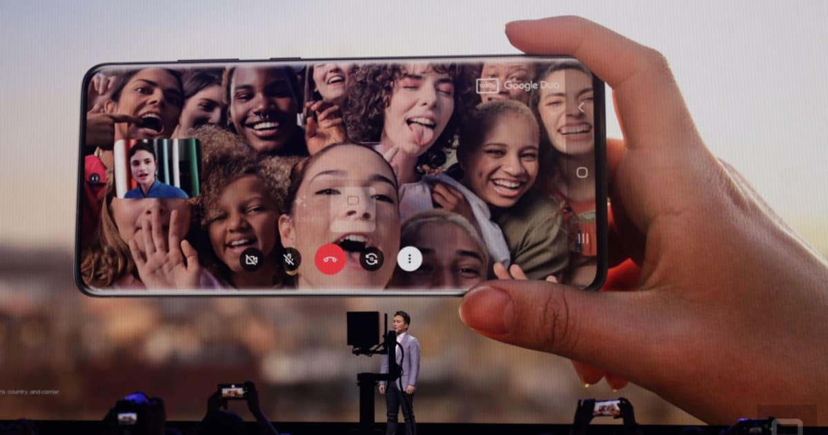 Samsung adds Google Duo to the Galaxy S20 dialer