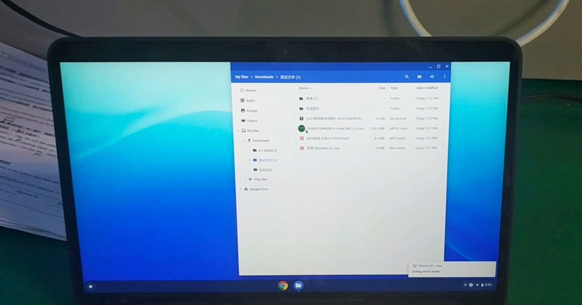 Google's rumored Pixelbook Go laptop may pack a 4K display 1