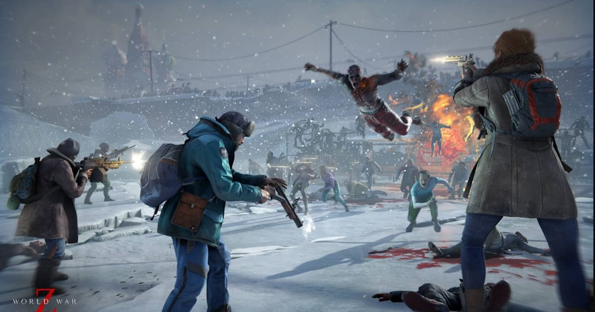 'World War Z' updates to add horde mode and a new zombie 1