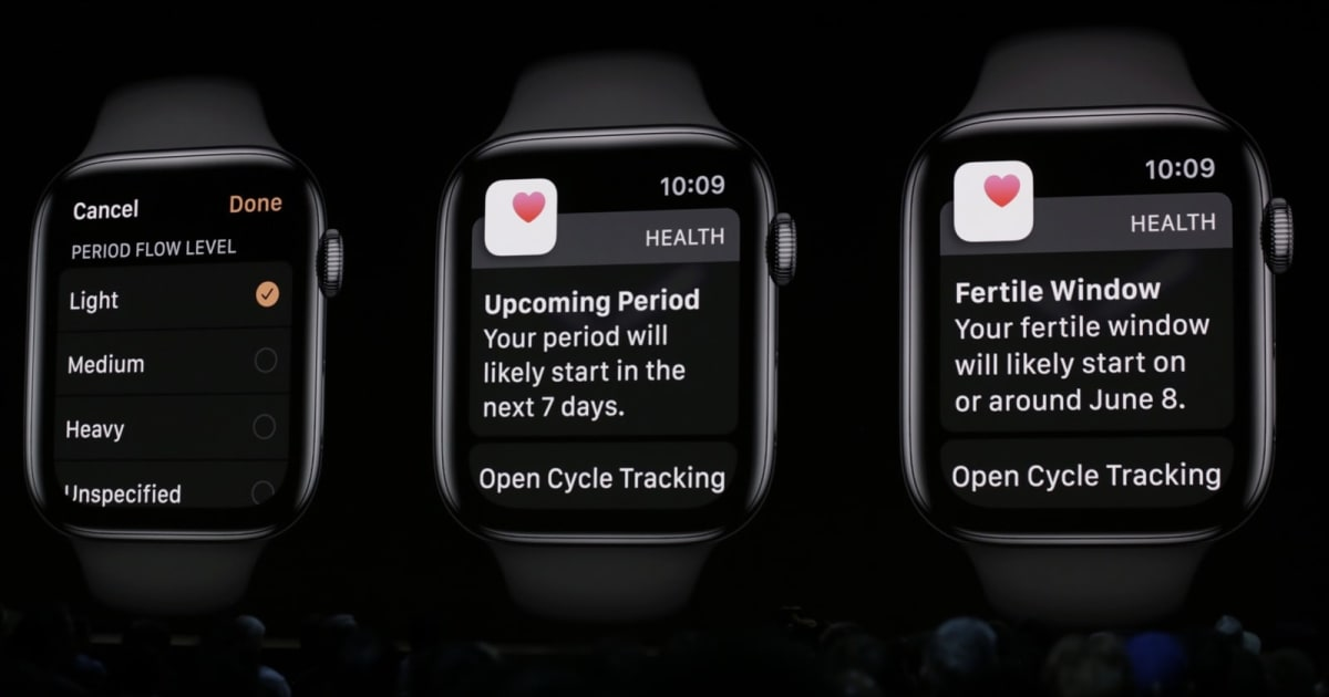 Apple Watch can conserve your hearing and track your menstrual cycle thumbnail