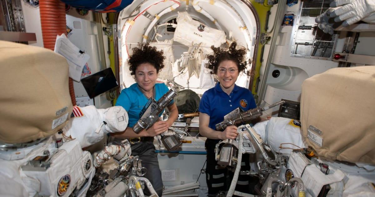 Watch NASA's first all-woman spacewalk 1