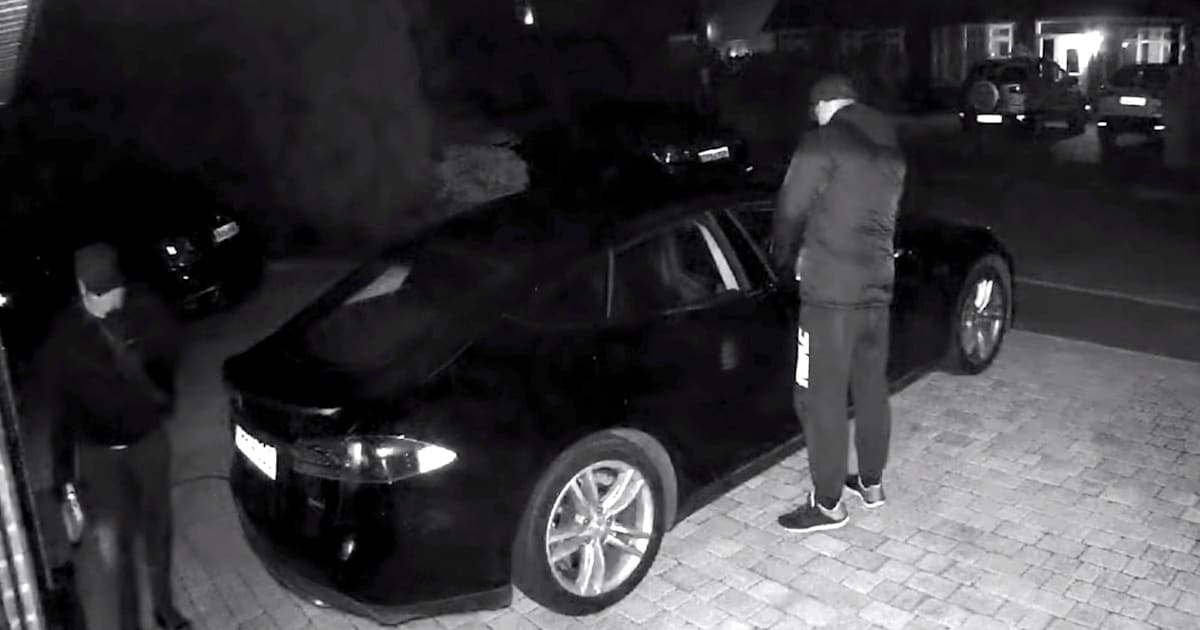 Stealing a Tesla Just Got Harder Thanks to a New Update