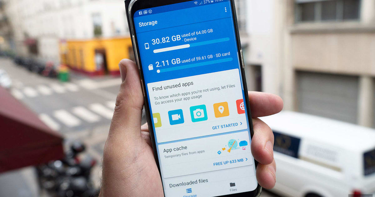 Google's Android file manager now supports USB drives