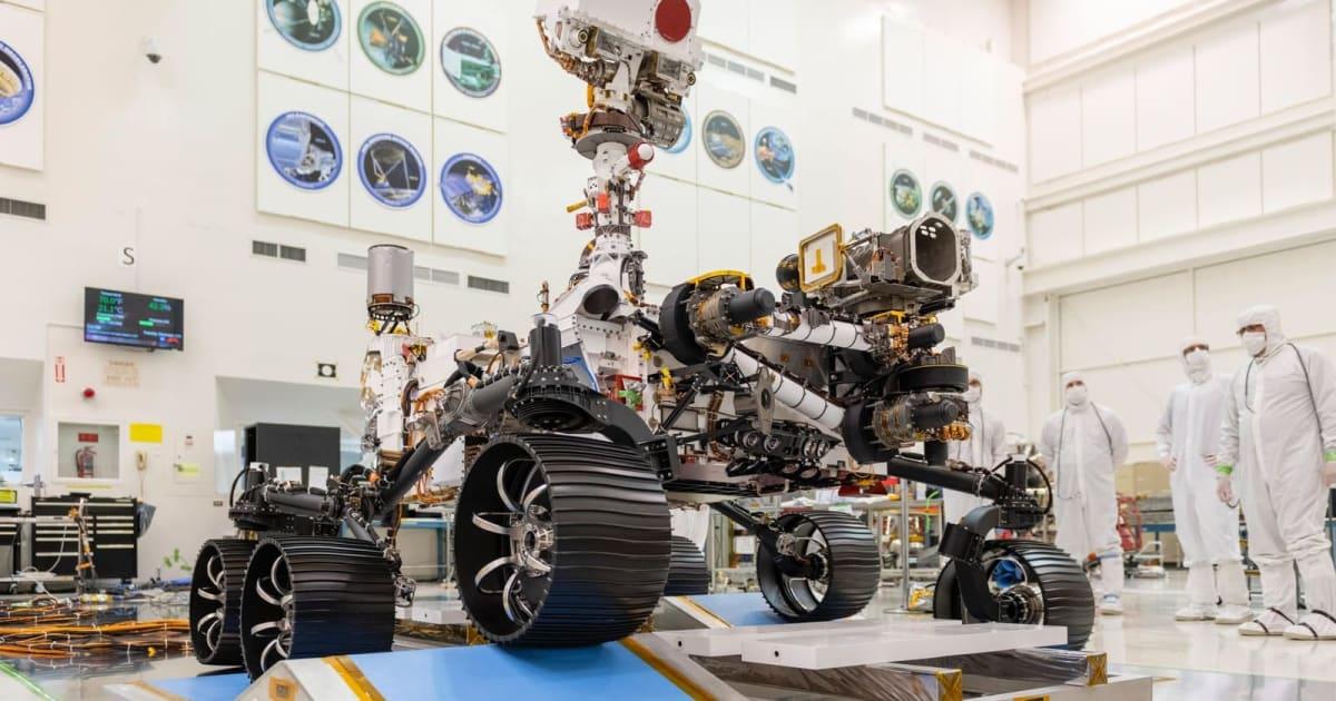 NASA's Mars 2020 passes its driving test 1
