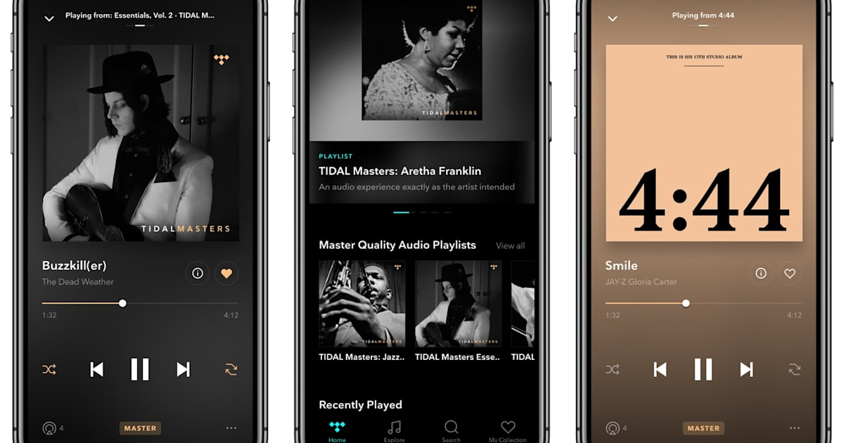 Tidal adds high-resolution audio to its iOS app