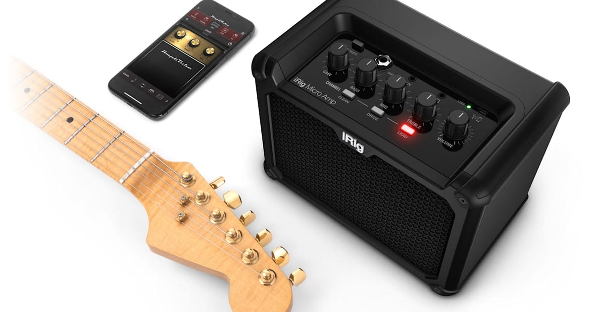 IRig Micro Amp Delivers Classic Guitar Tones with your Phone