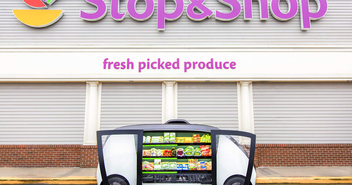 QnA VBage Stop & Shop is bringing autonomous food stands to Boston