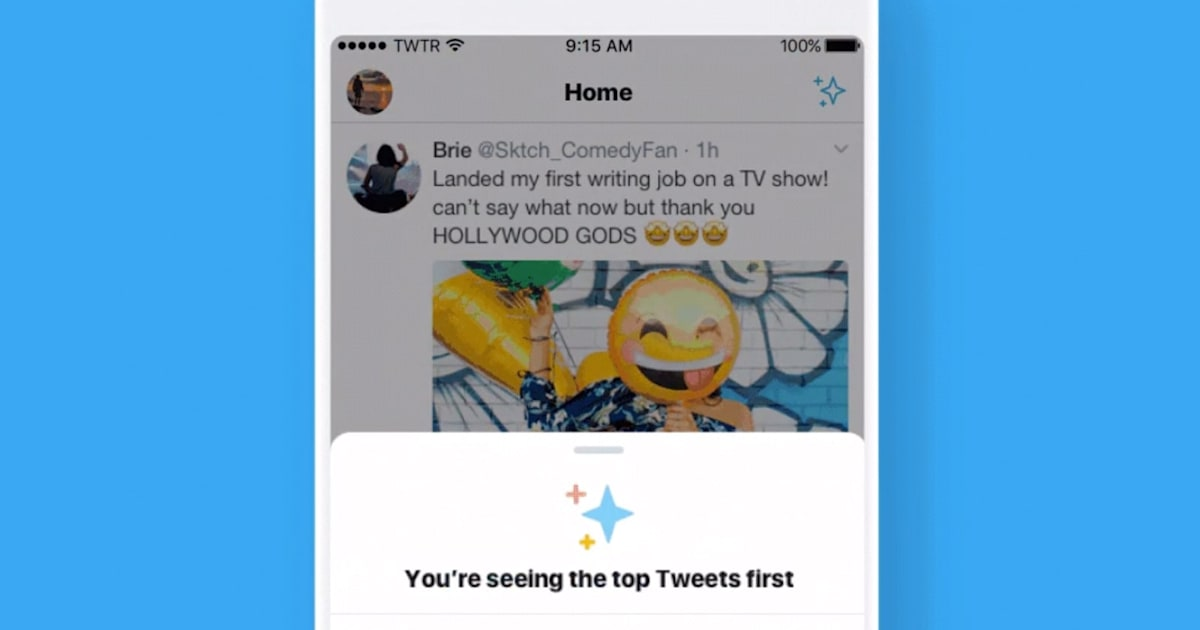 Twitter Test Makes it Easier to See the Latest Tweets First