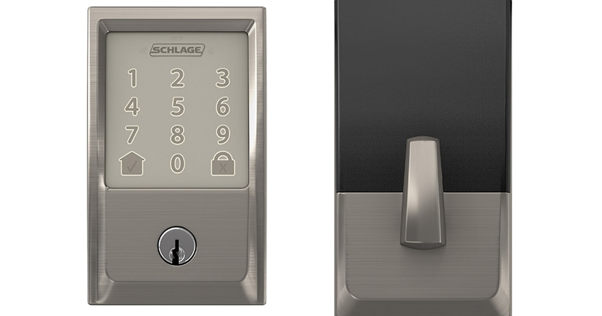 Schlage S Wifi Deadbolt Lock Can Open The Door For Amazon