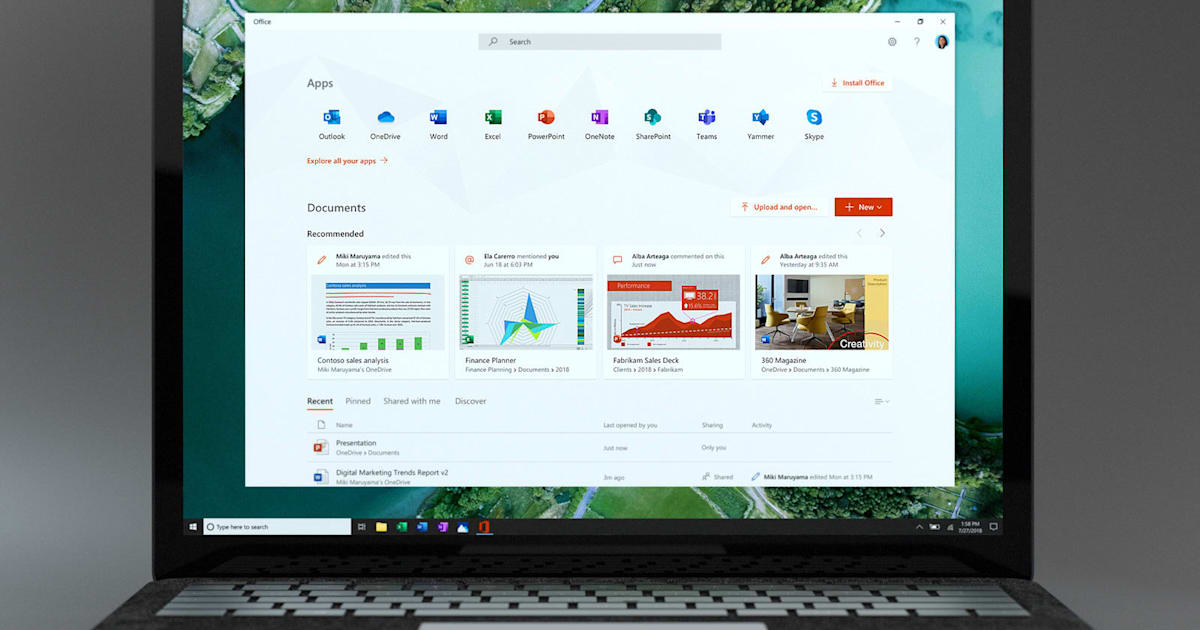 QnA VBage Microsoft Office app for Windows 10 provides a hub for all your work