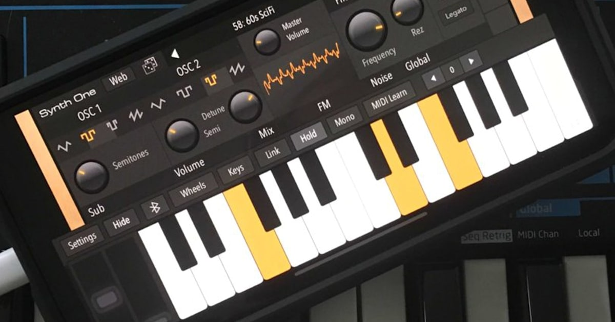 QnA VBage AudioKit's free, feature-loaded synth is available for iPhone