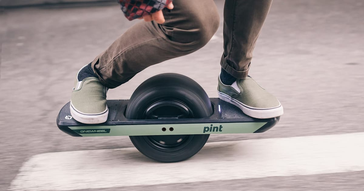 Onewheel Pint is a more affordable, easier to ride electric board