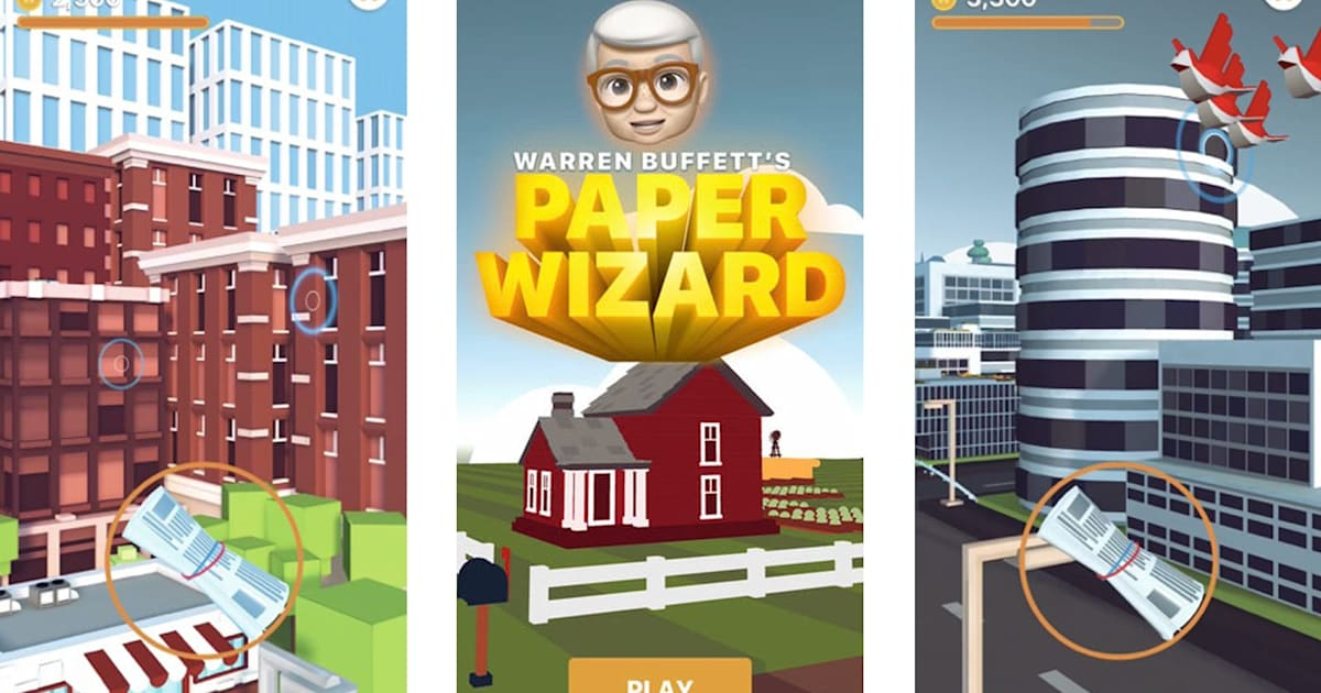 QnA VBage Apple's first iPhone game in over a decade stars Warren Buffett