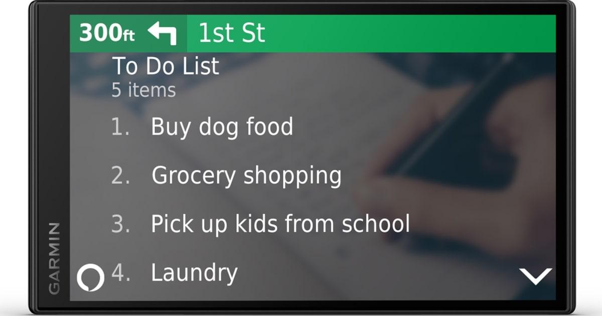 Garmin hopes Alexa will convince you to buy a dedicated GPS 1