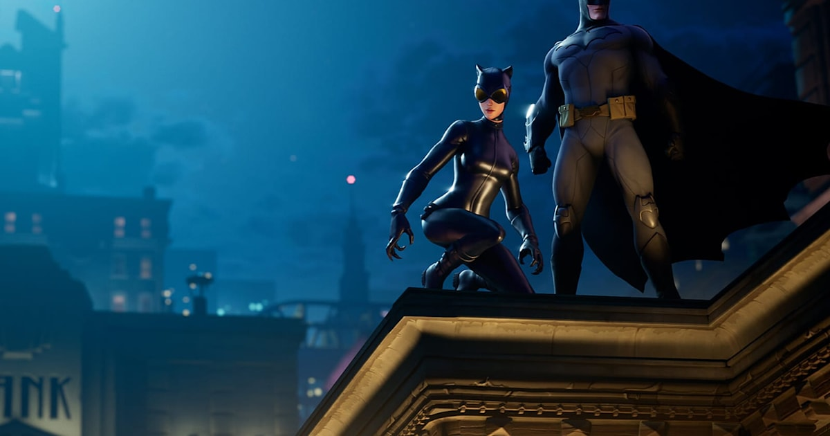 Batman comes to 'Fortnite' along with Catwoman and Gotham City 1
