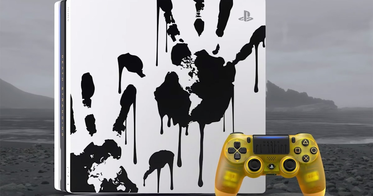 'Death Stranding' PS4 Pro includes a baby pod-inspired controller 1