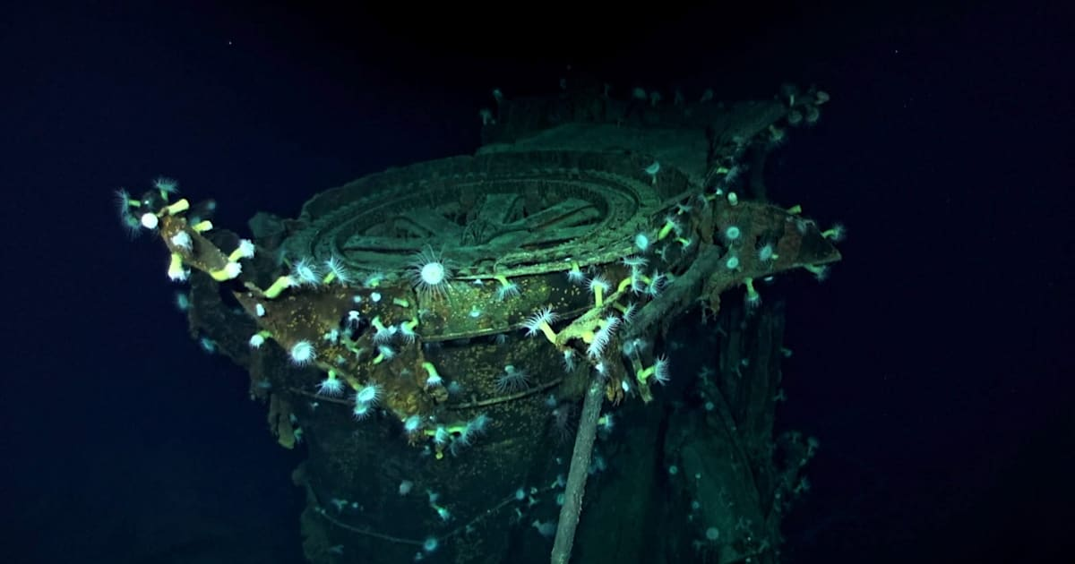 Sonar drone helps find a WWII Japanese aircraft carrier 1
