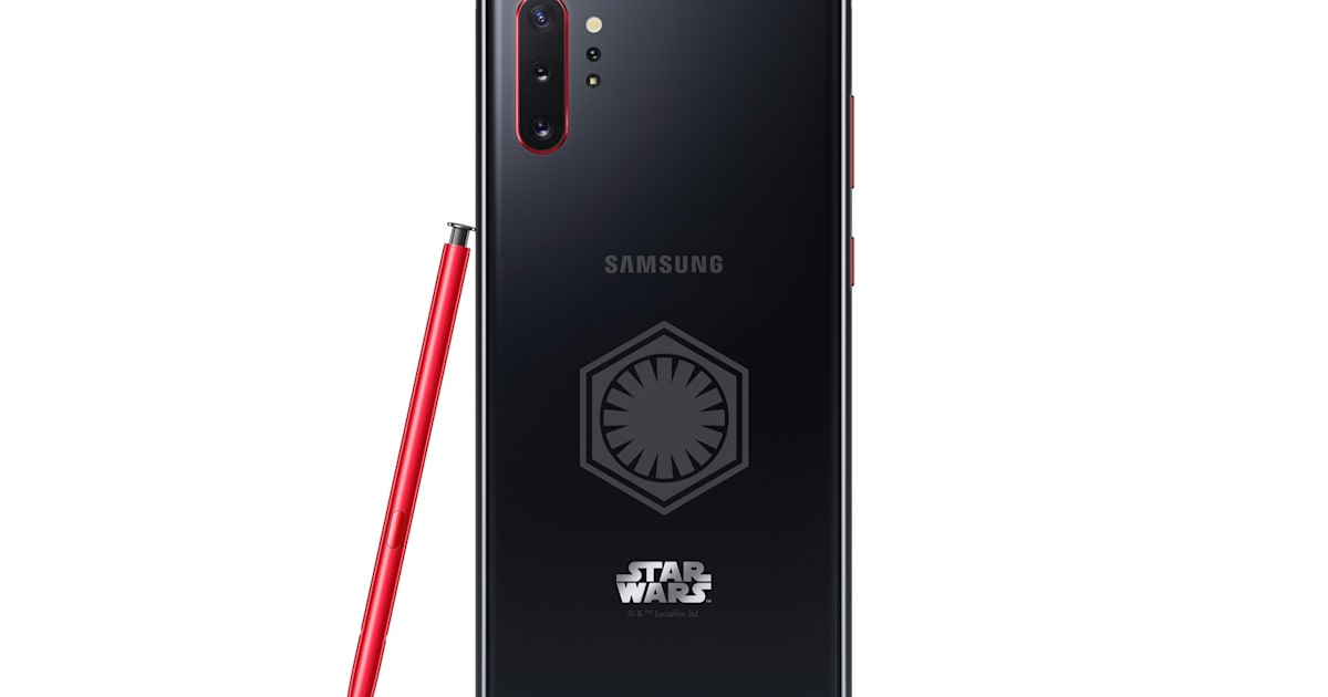 Samsung made a 'Star Wars' Galaxy Note 10+ for Kylo Ren fans