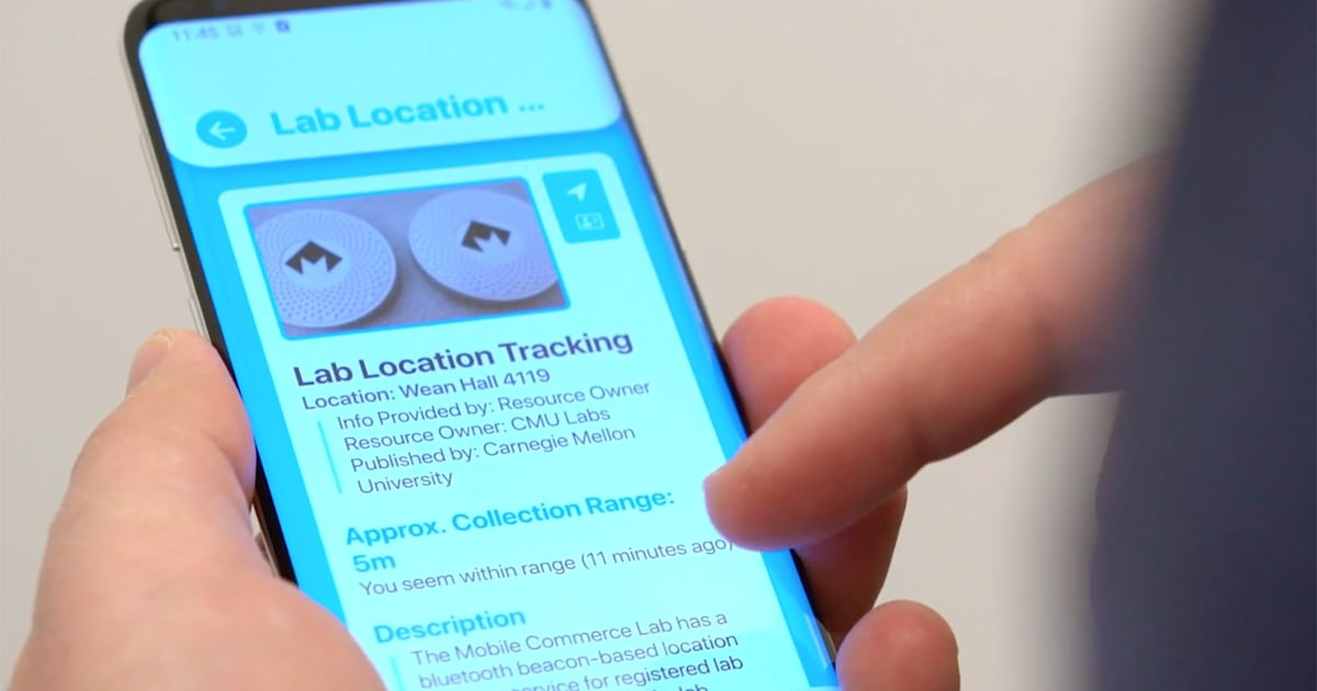Carnegie Mellon built an 'opt-out' system for nearby tracking devices