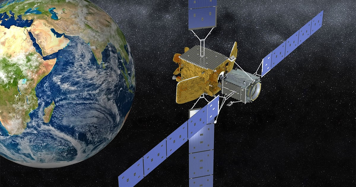 Northrop's satellite refueling spacecraft launches on October 9th 1