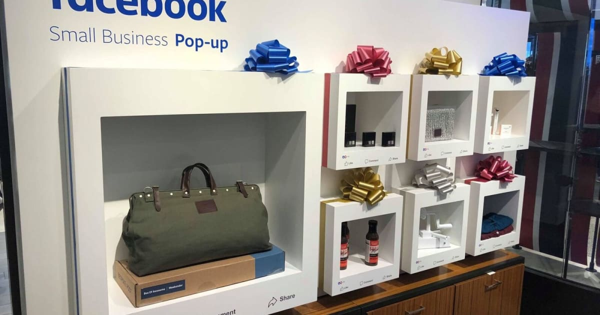 Facebook Opens Small Business Pop-ups in Nine Macy's Stores