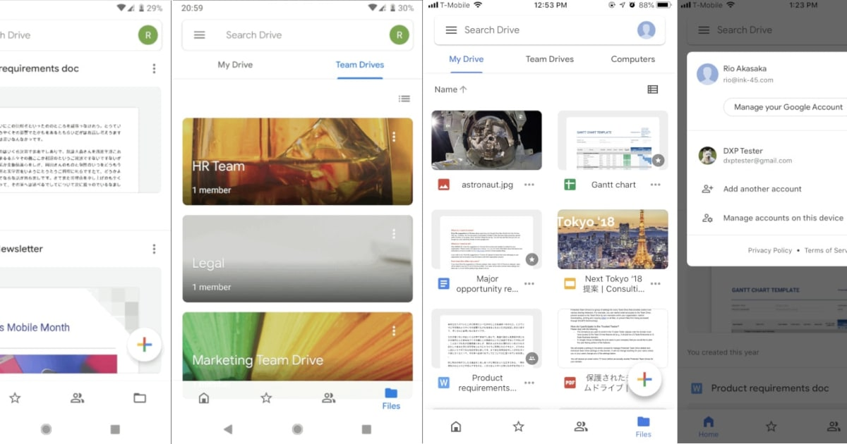 QnA VBage Google Drive apps get a redesign to match its look on the web