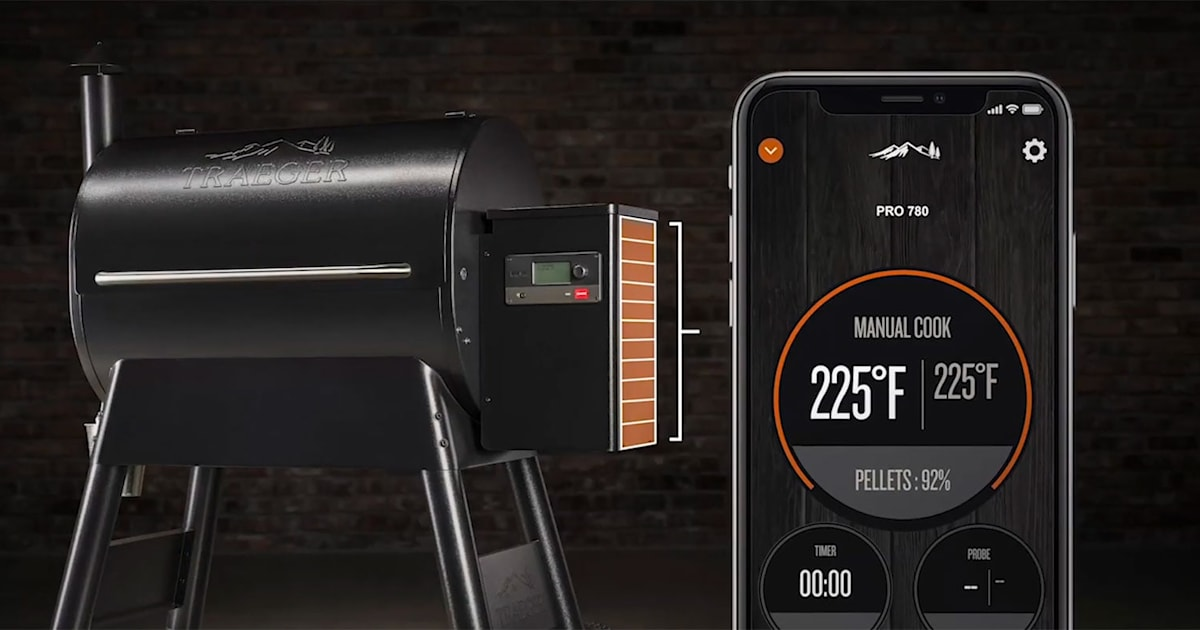 Traeger Wi-fi Grills Display Your Timber Pellet Supply With An $80 Sensing Unit 1