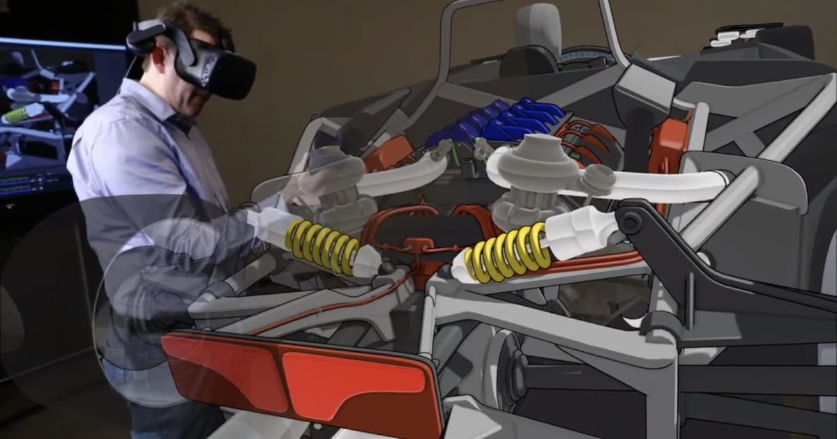 Ford is letting some designers build cars in virtual reality