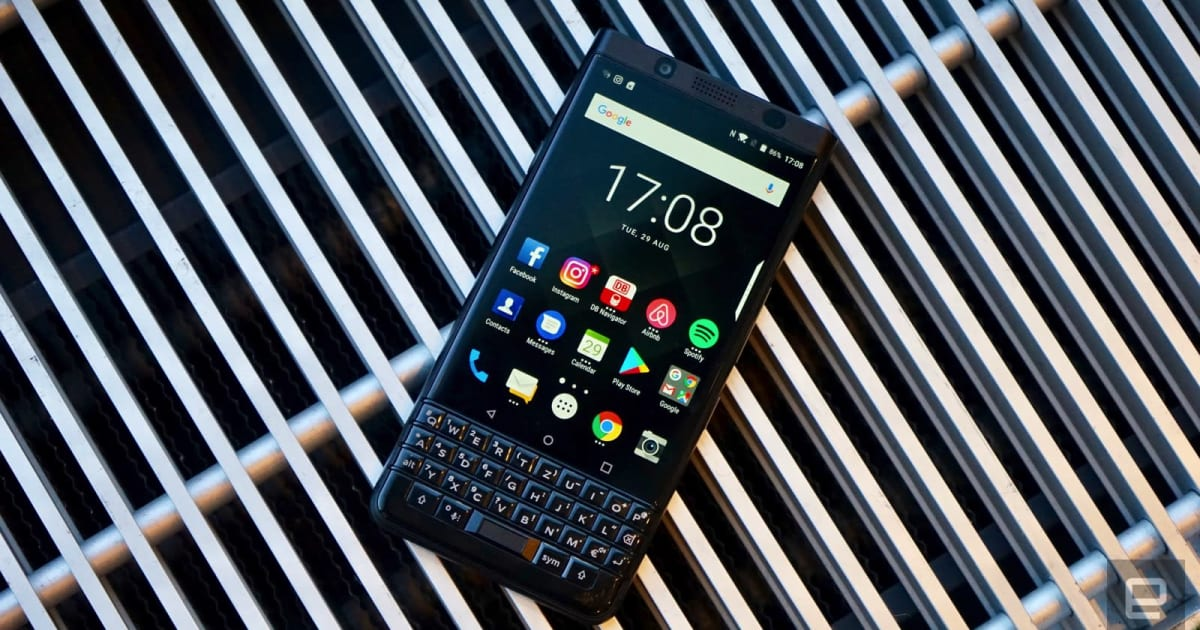 BlackBerry KEYone Black Edition first look: More of the same