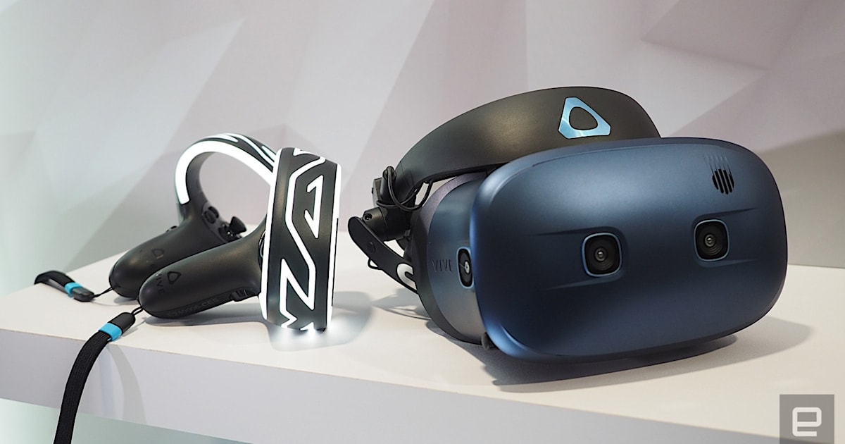 HTC's next VR headset is the Vive Cosmos