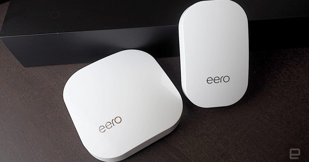 Amazon buys mesh WiFi startup Eero to connect smart homes
