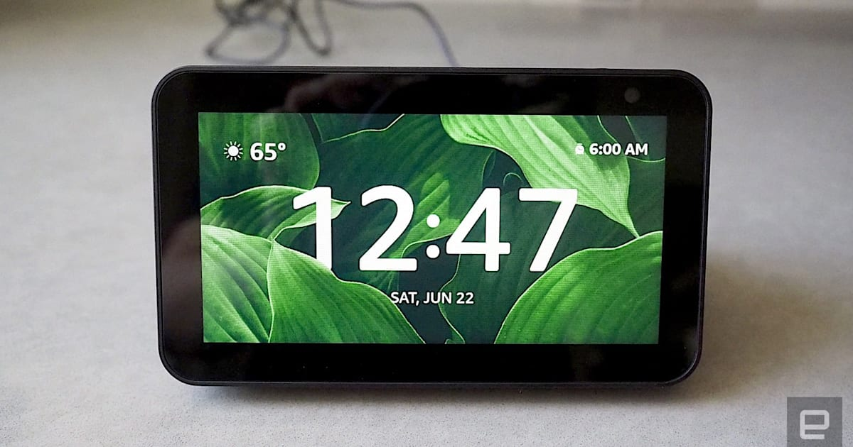 Amazon Echo Show 5 review: An Alexa display with alarm clock