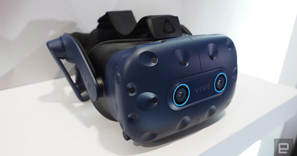 HTC Vive Pro Eye is now out in North America for $1,599 1