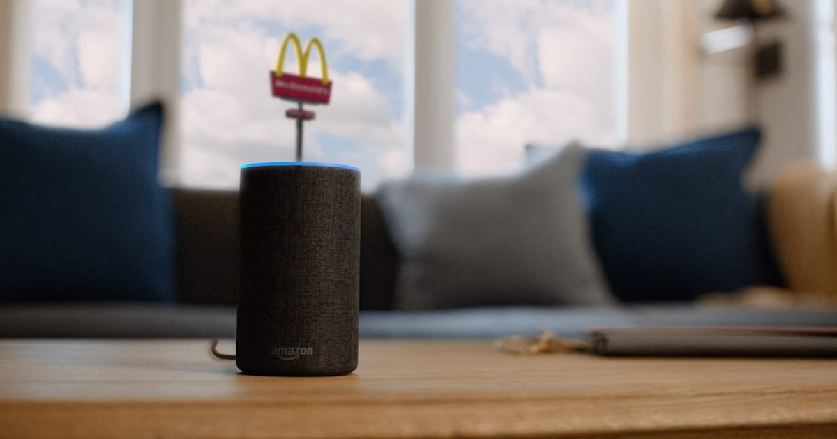 McDonald's is using Alexa and Google Assistant to hire new workers