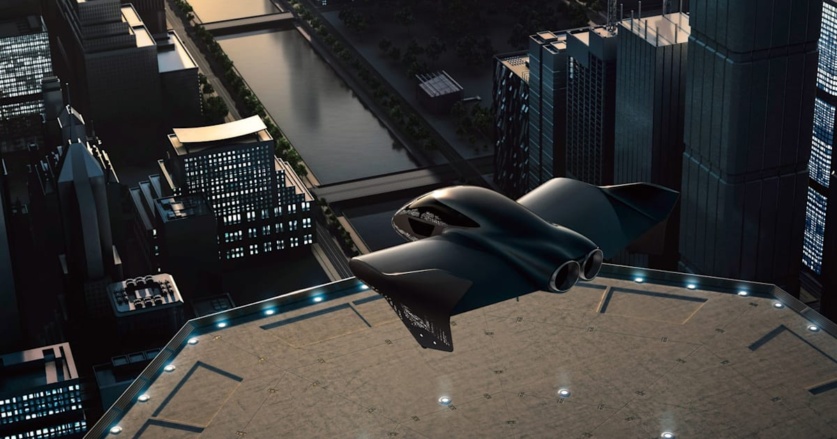 Boeing and Porsche are developing an electric 'flying car' 1