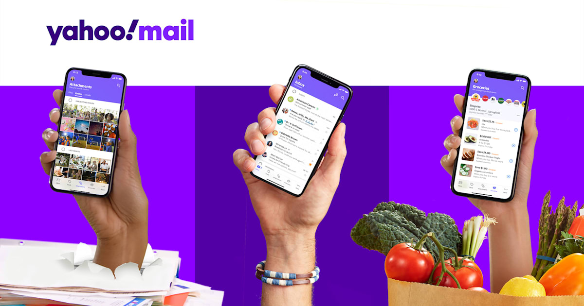 Yahoo's redesigned Mail app aims to bring order to your inbox 1