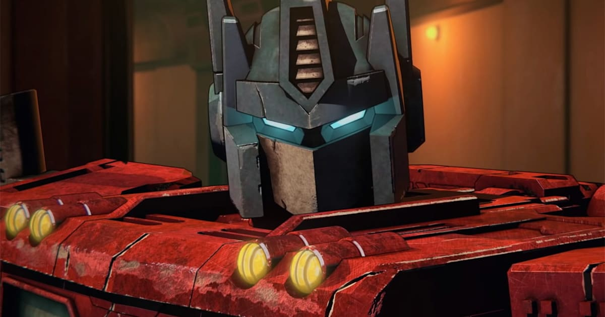 Netflix's first 'Transformers' teaser reveals a hopeless war