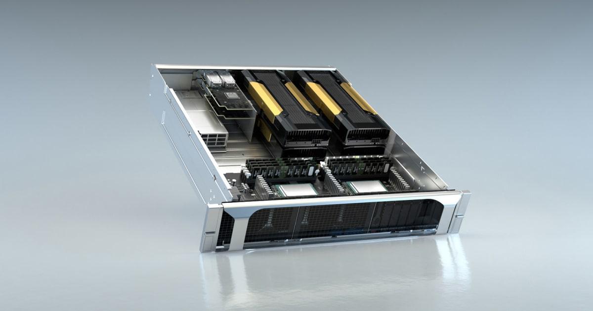 NVIDIA's EGX Supercomputer Technology Can Grind 1.6 Terabytes A 2nd 2