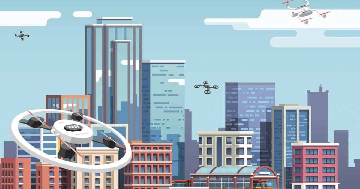 NASA is Close to Finalizing its Drone Traffic Control System for Cities