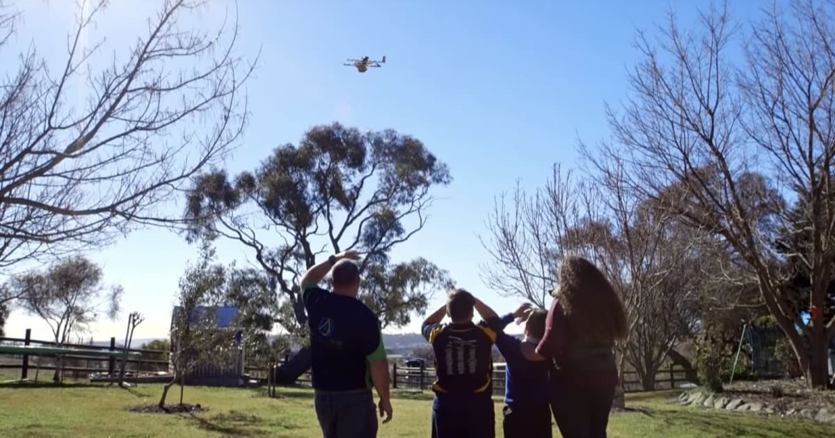 Alphabet is Re-working its Wing Delivery Drones to Be Less Noisy
