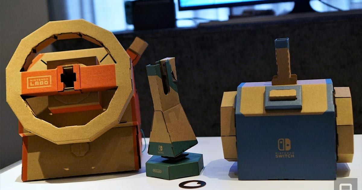 Nintendo Labo Vehicle Kit Hands-on: The Toy-Cons We've been Waiting for